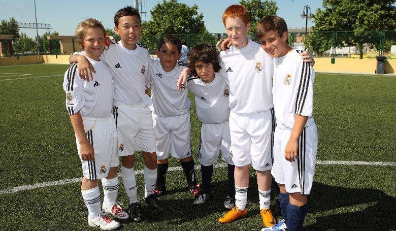 Футбольную академию фк реал мадрид»