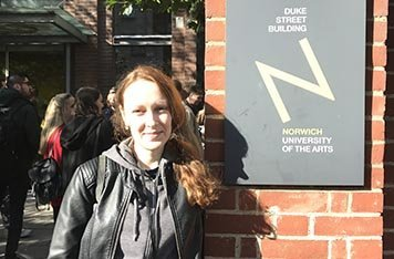 Обучение в Norwich University of the Arts